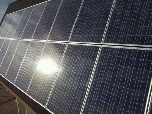 Solar panels are maintenance free