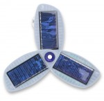 Small solar cell phone charger